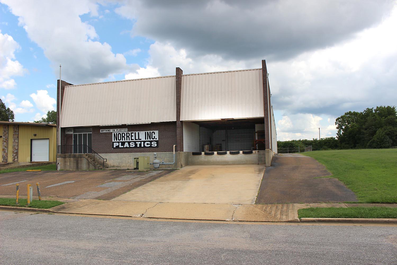 memphis commercial building